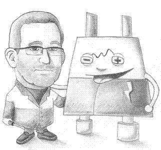 Caricatura Juan Carlos Lacheta